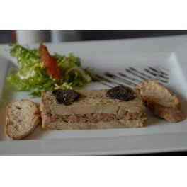 Terrine de foie gras nature